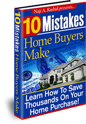 10 Mistakes Home Buyers Make